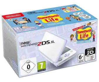 Consola New Nintendo 2DS XL color lavanda más videojuego Tomodachi life