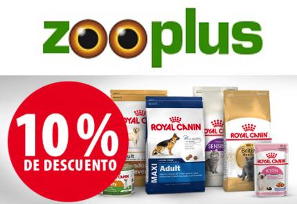 Cupon Zooplus -10% en la gama Royal Canin