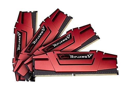 G.Skill RipJaws V - Memoria RAM de 32 GB (4 x 8 GB, 2666 MHz, DDR4 SDRAM)