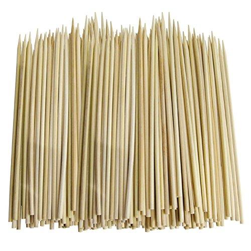 90 pinchos de madera para barbacoa