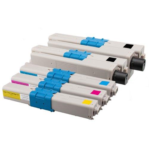 5 cartuchos de tóner compatible con Oki C310 (REACONDICIONADO)