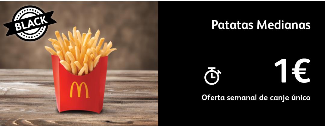 Oferta black Patatas medianas 1€