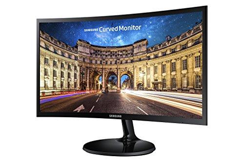 Samsung LC24F390FHU - Monitor de 24'' (1920 x 1080 pixeles, Full HD, HD 1080, 3000:1, mega contrast), color negro