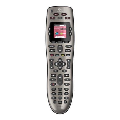 Logitech Harmony 650 - Mando a distancia (IR inalámbrico, DVD/Blu-ray), gris