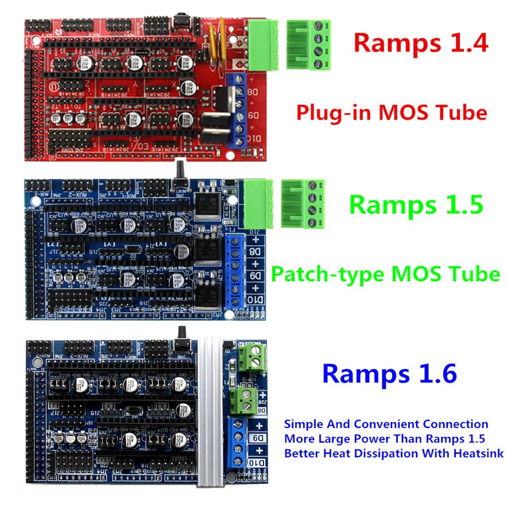 Ramps 1.4 para Arduino y Impresoras 3D