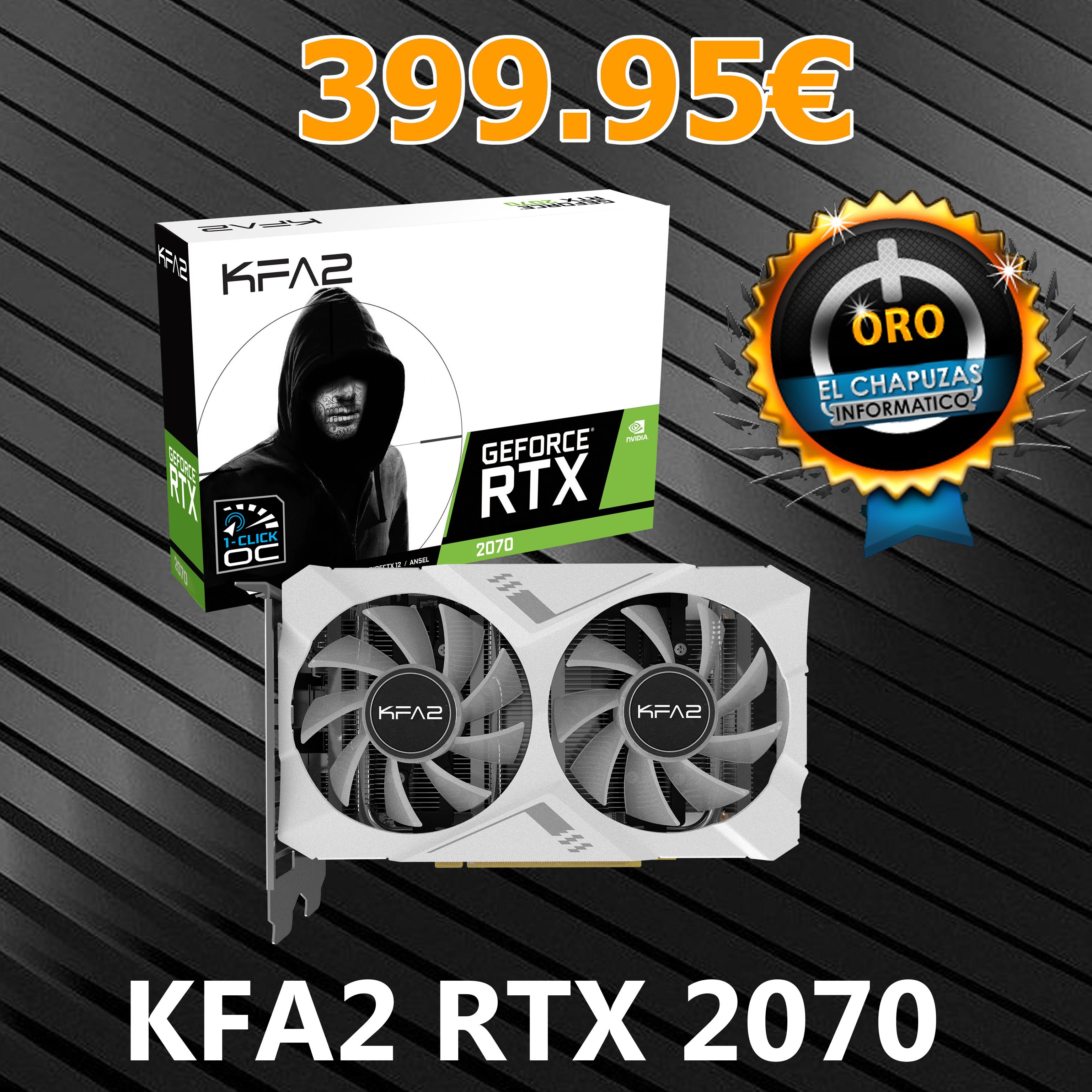 KFA2 GeForce RTX 2070 WHITE 8GB GDDR6 Mini