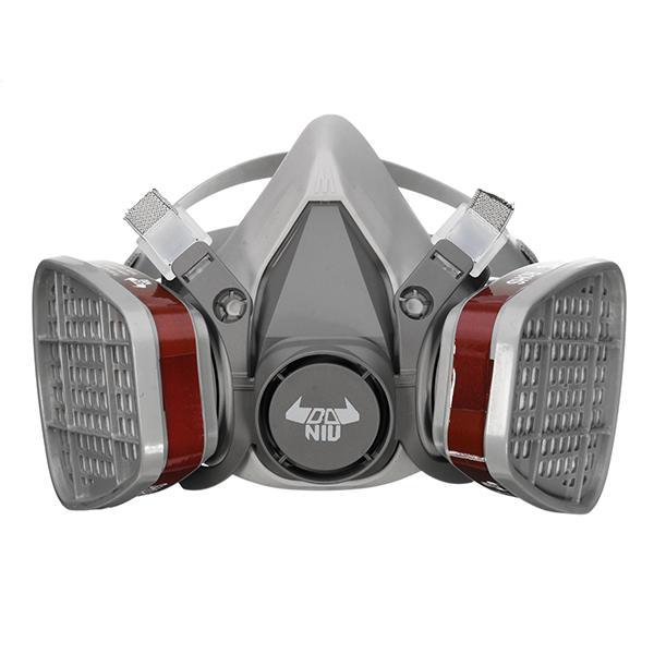 Mascara de doble filtro DANIU 6200 N95