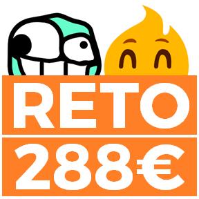 RETO 288€ - sin riesgo (añadido 888Sports)