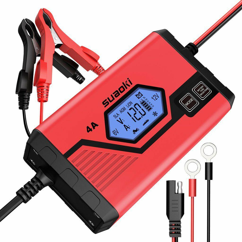 Cargador/Mantenedor de baterías tanto para coche como para moto