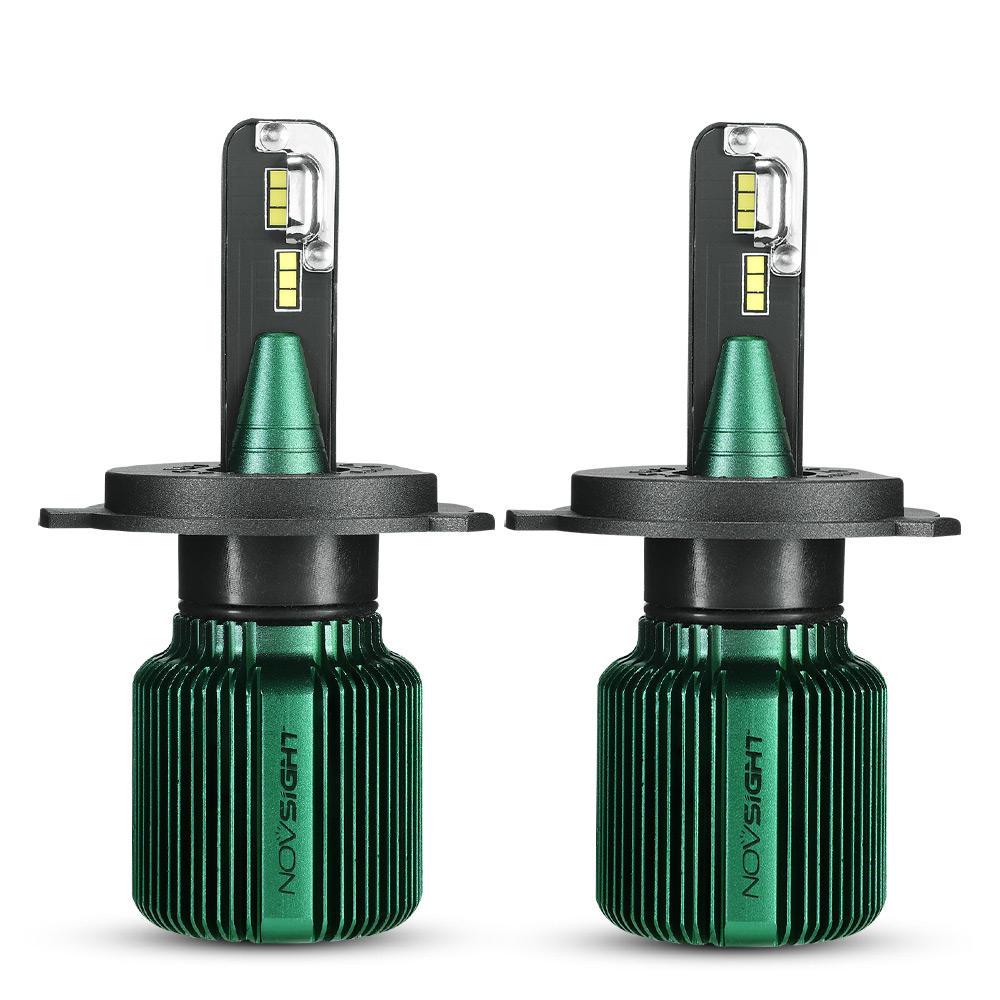 2 bombillas LED para coche NovSight A500-N17,40W 10000LM