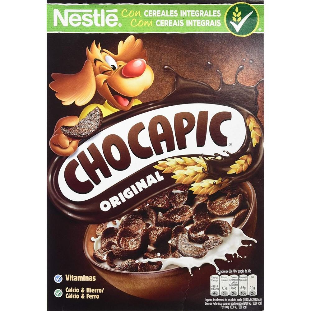 Chocapic - PACK Cereales Desayuno Con Chocolate - 7 Paquetes De 375 G