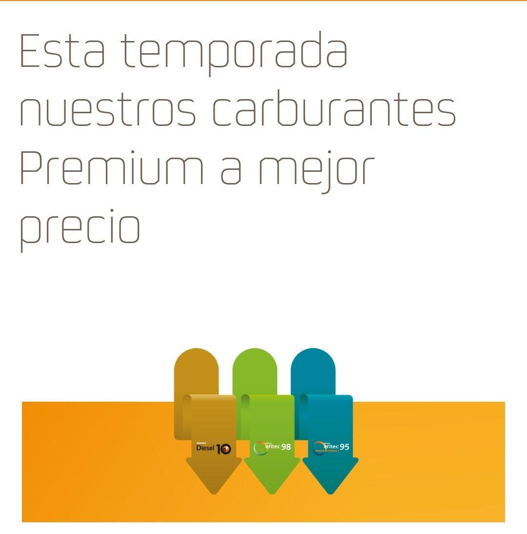 Semana Santa - Carburantes Premium a mejor precio (Repsol, Campsa y Petronor)