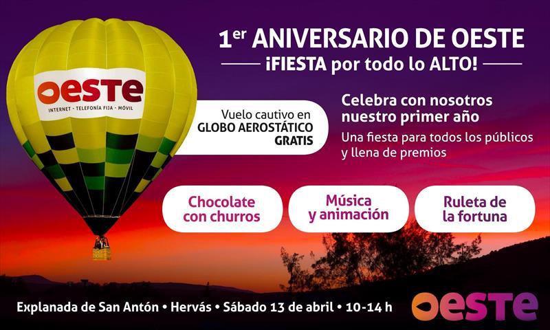 montar en globo GRATIS  en Cáceres