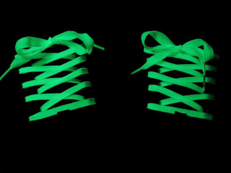 Cordones calzado Fluorescentes solo 0.08€