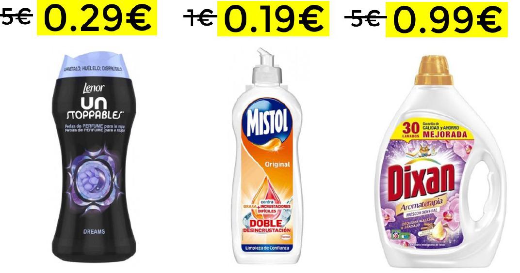 Miniprecios en cientos de productos de supermercado