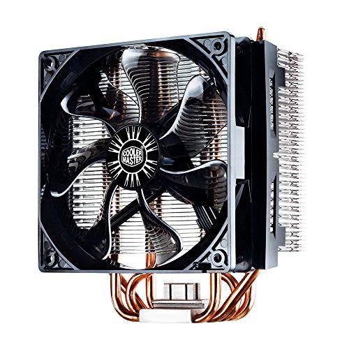 Cooler Master Hyper T4 - Ventilador de CPU, negro y plateado