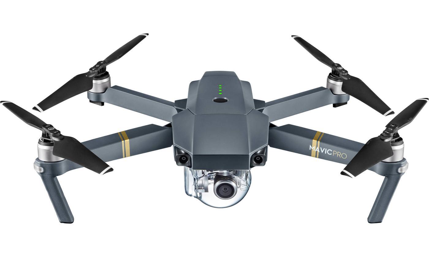 Drone DJI Mavic Pro con cámara 4K y bolso al hombro incluido