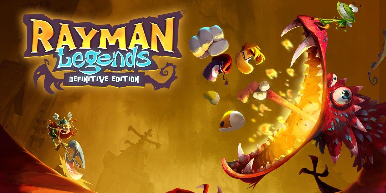 Rebaja Rayman Legends para nintendo Switch