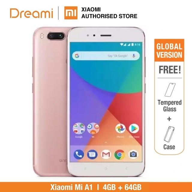 Xiaomi Mi A1 4/64GB por solo 117€!