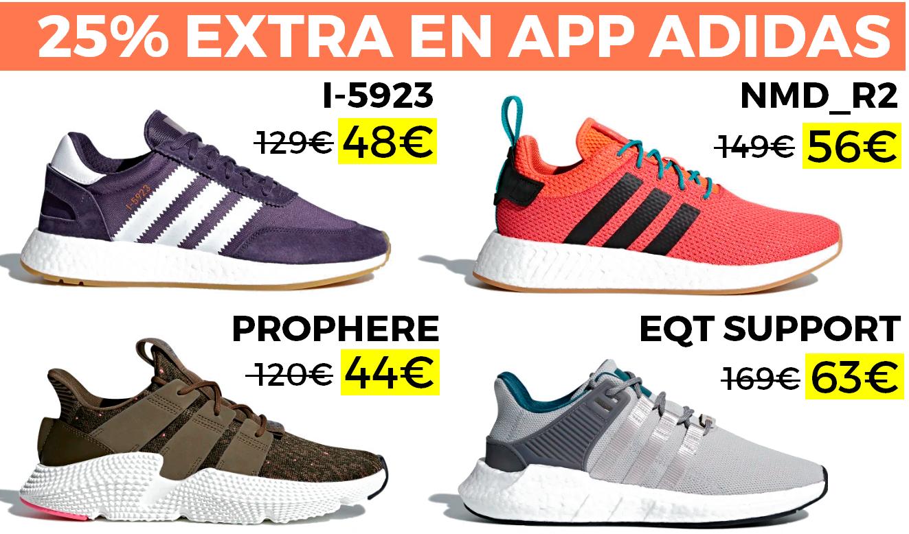 50% + 25% EXTRA en Adidas Outlet