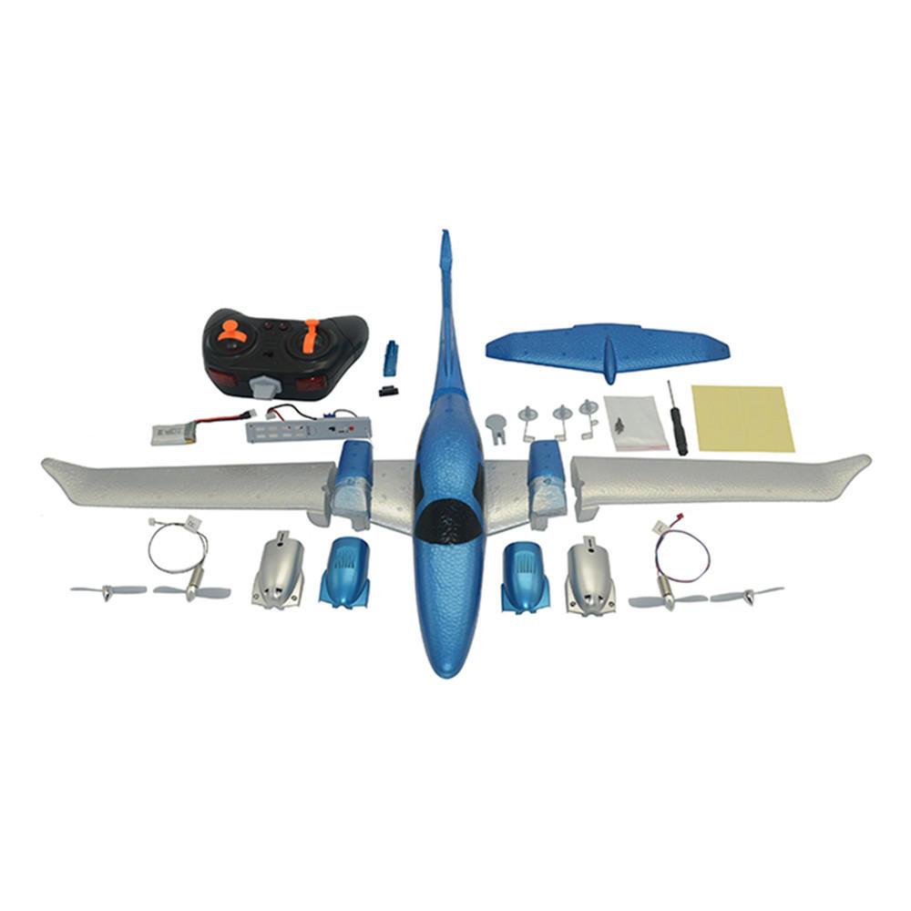 GD-006 DIY Avión RC - Con Batería