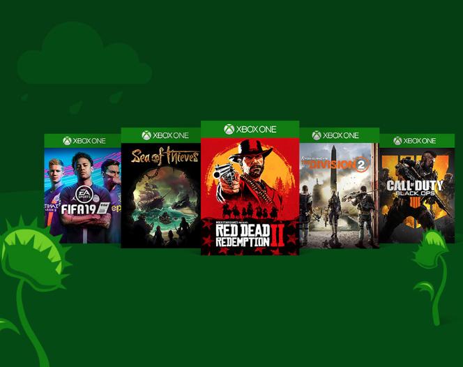 Ofertas de Primavera Xbox Store (hasta un 85%)