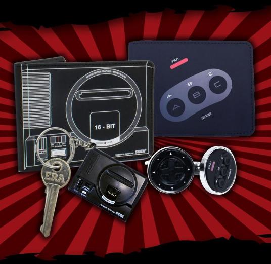 Pack geek oficial Sega Mega Drive