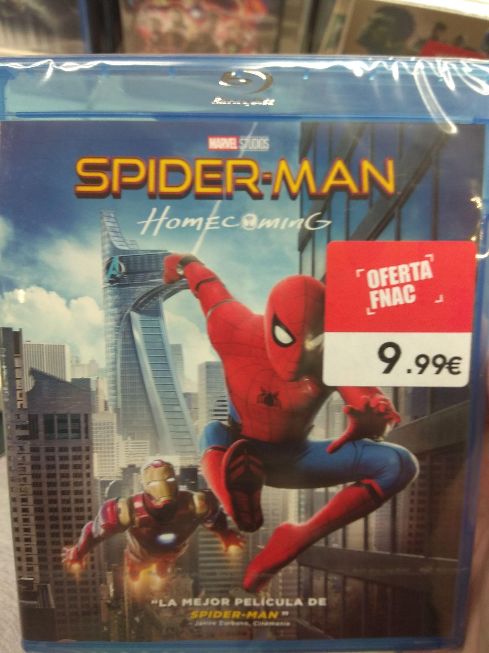 Pelicula Spiderman: Homecoming Blu-ray