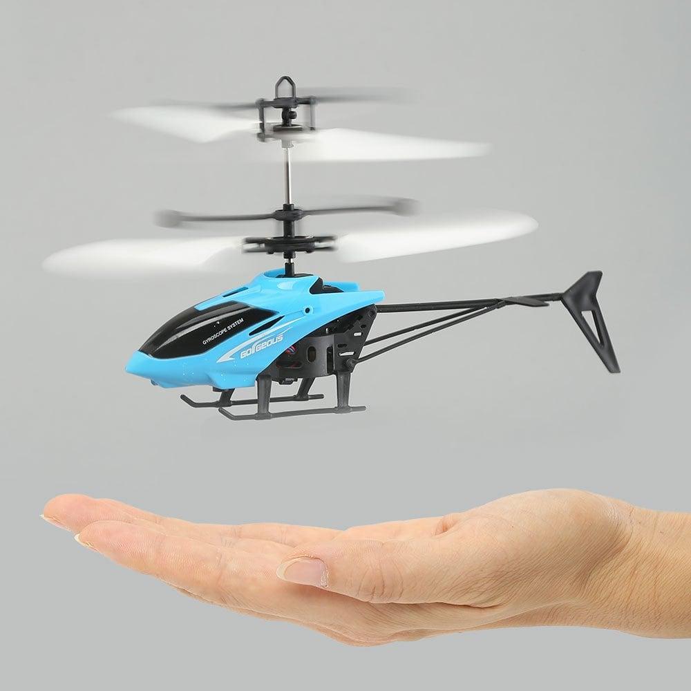 Mini helicóptero (Flota por inducción)