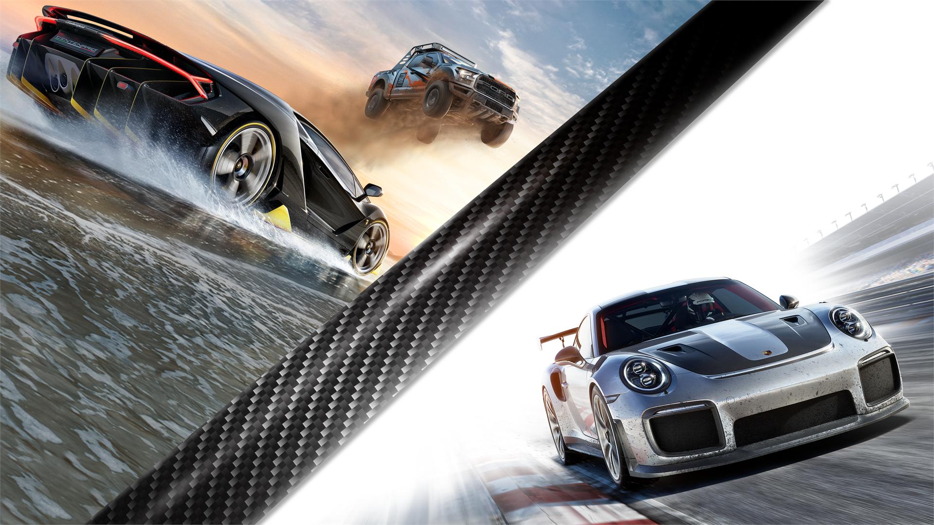 Paquete Forza Motorsport 7 y Forza Horizon 3