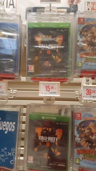 Black ops 4 para Xbox One (Alcampo Utrillas de Zaragoza)