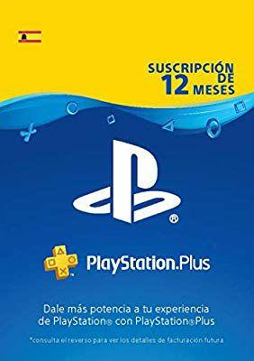 PlayStation Plus Suscripción 12 Meses (Código descarga PSN)