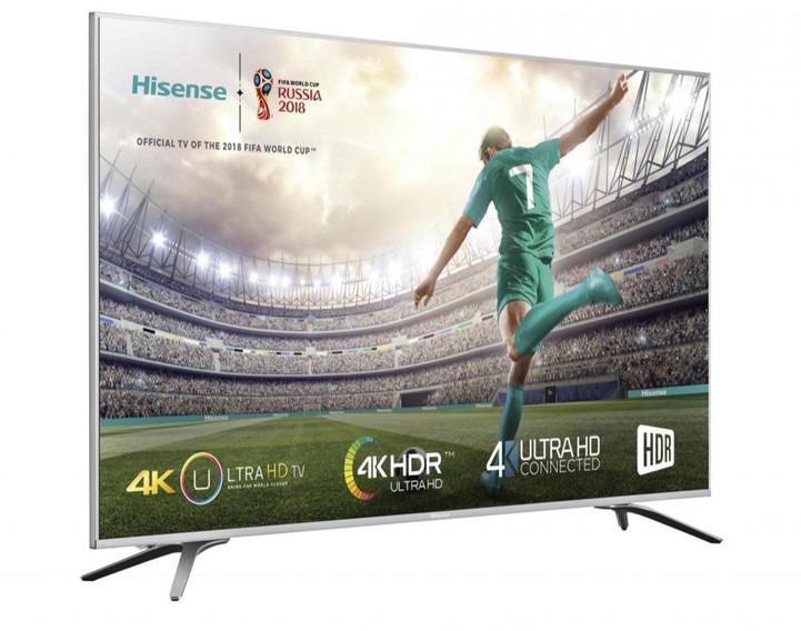 TELEVISOR HISENSE 43H43A6140 4K SMART TACTICO A+