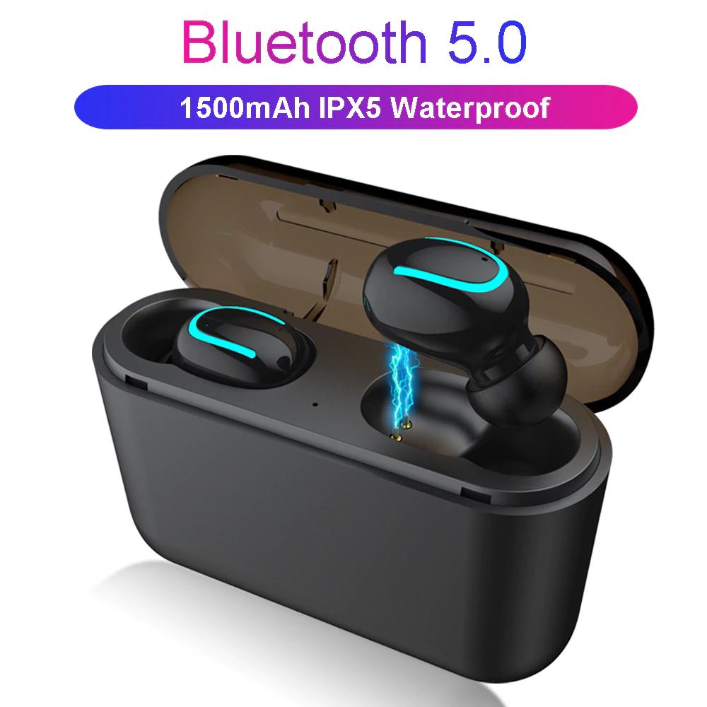 Par de auriculares inalambricos waterproof