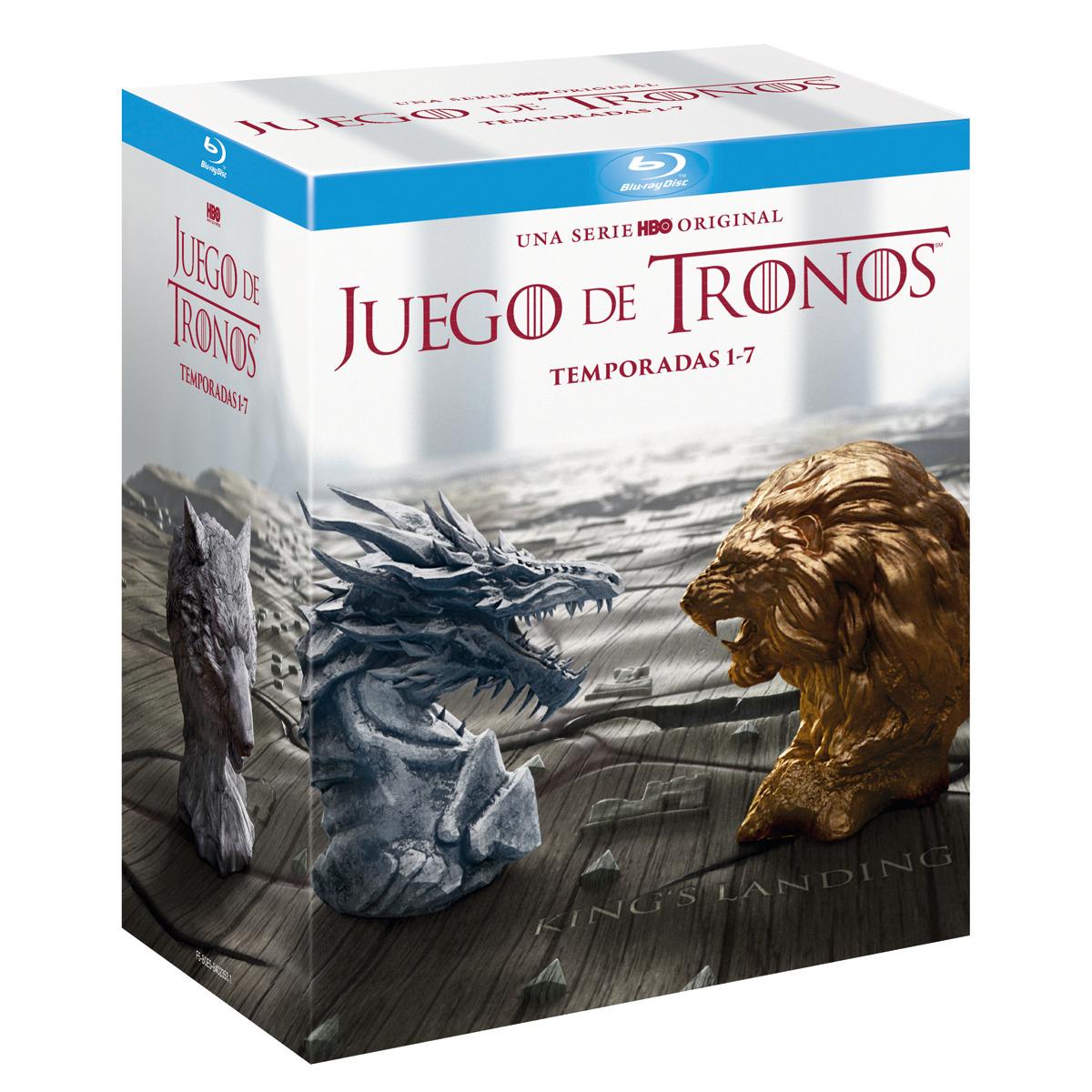 Pack Juego de Tronos: Temporadas 1-7 (Blu-Ray) VOSE