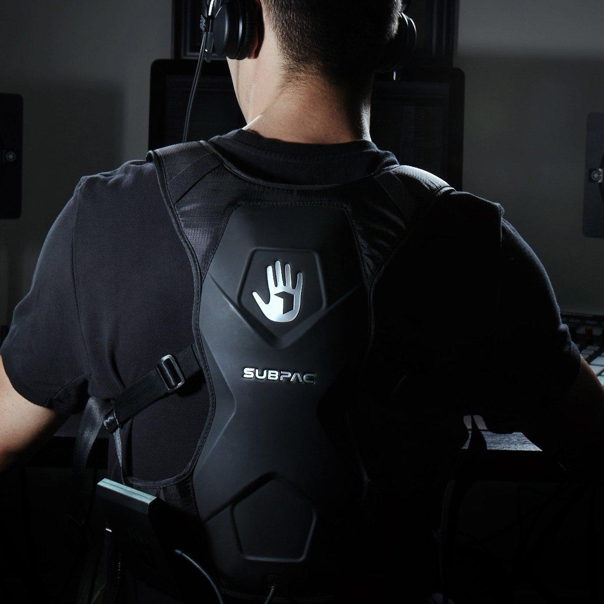 SUBPAC Escucha musica, ve peliculas y disfruta de videojuegos atraves de tu cuerpo