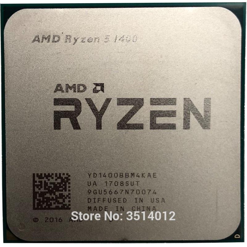 AMD Ryzen 5 1400 R5 1400 3,2 GHz