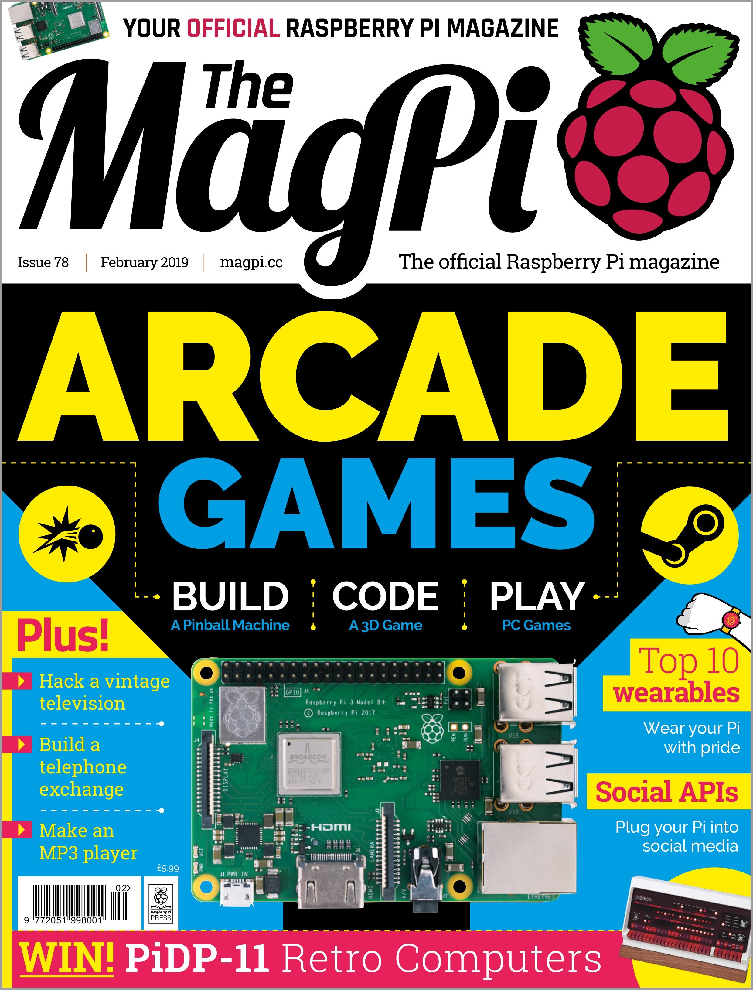 Varias Revistas gratis con proyectos de Raspberry Pi