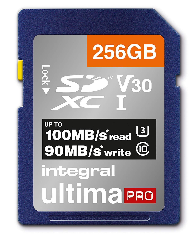 Integral SD 256GB v30 Premium 33.5€