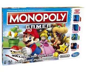 Monopoly Gamer (videojuegos Nintendo)