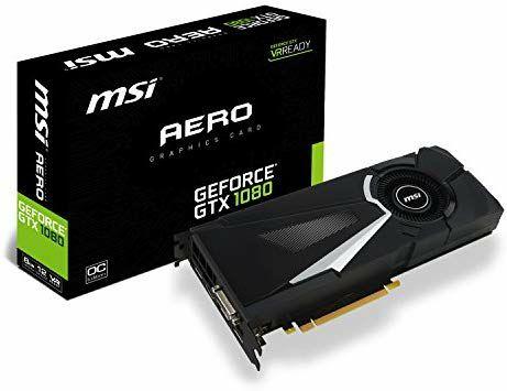 """3 UNIDADES MSI GTX 1080 8GB OC de segunda mano """"Como nuevas"""""""