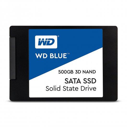 WD Blue 3D Nand SSD SATA 500GB