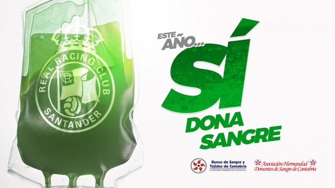 Entradas GRATIS Racing de Santander-SD Amorebieta al donar sangre El Sardinero Santander