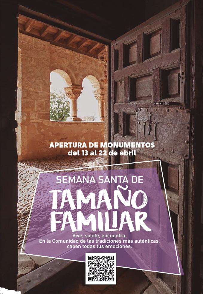 CASTILLA Y LEÓN (Del 13 al 22 de Abril): Especial apertura de monumentos por Semana Santa 2019 (GRATIS)