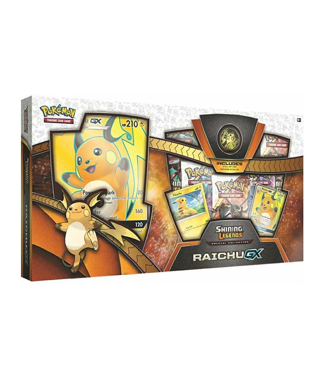 Pokemon JCC Colección Especial Raichu-GX de Leyendas Luminosas - Español