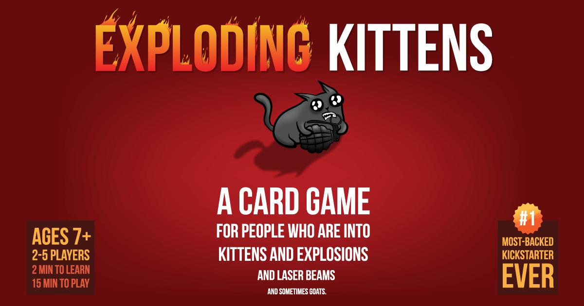 Exploding Kittens Original Version