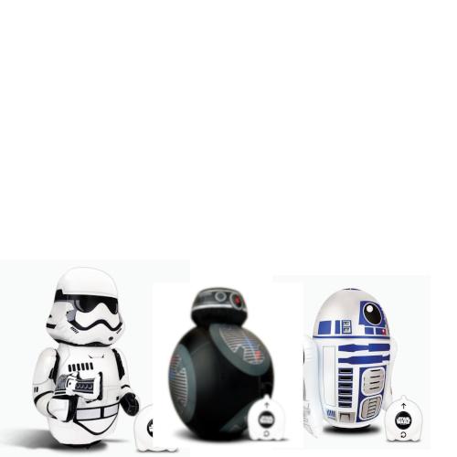 3 figuras inflables radiocontrol Star Wars a 9€ cada una aprox con envío incluido