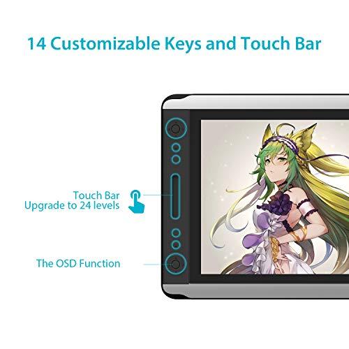 HUION Kamvas GT-156HD V2 Tableta Gráfica