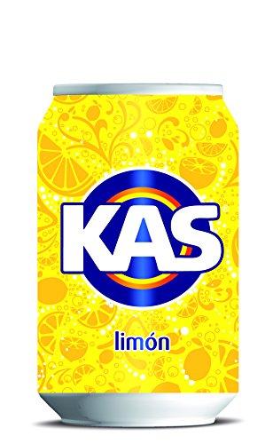 8 latas por 0,41€ - Kas limón
