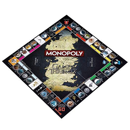 Juego de Tronos Monopoly - Edición, versión Inglesa - Amazon